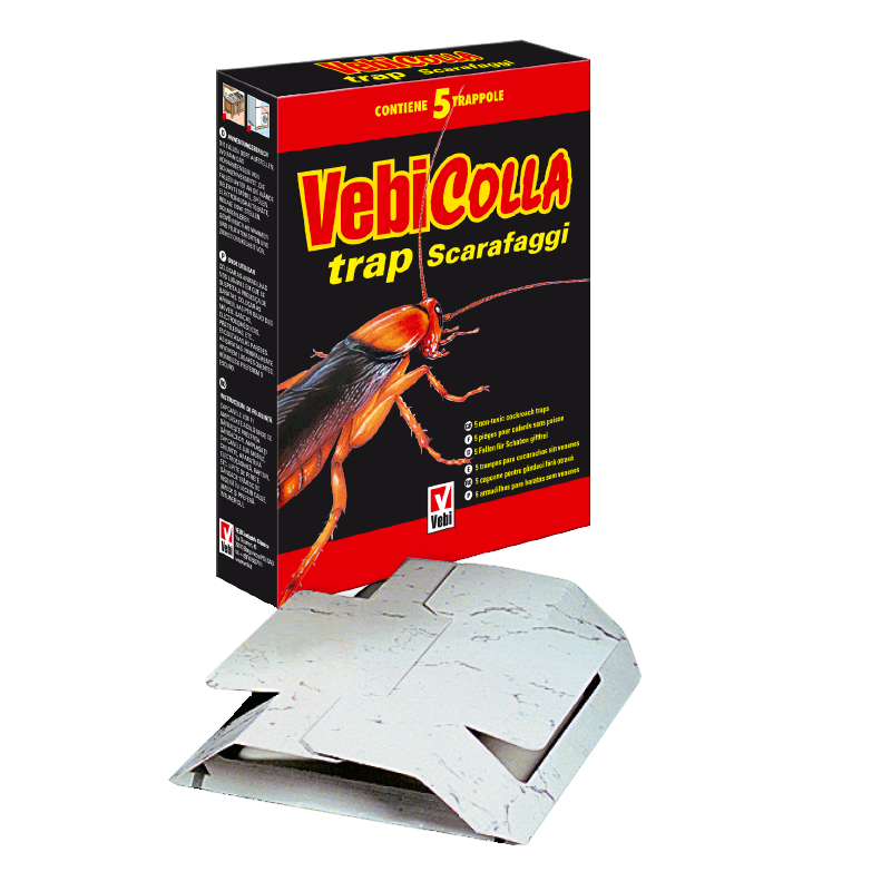 Vebicolla Trap scarafaggi